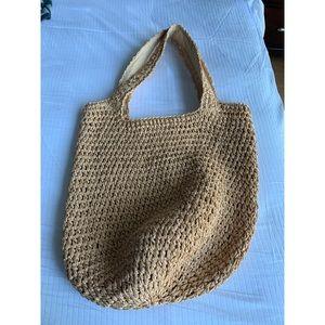 NEW!! GAP Boho Natural Bag